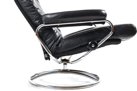 stressless ottoman price mid century stressless lounge chair and ottoman from