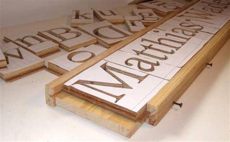 making letters pantograph