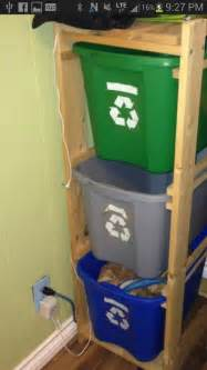 Garage Garbage Organization 25 Best Ideas About Recycling Center On