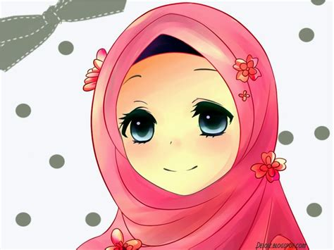 Wallpaper Anime Lucu | wallpaper muslimah cute deloiz wallpaper
