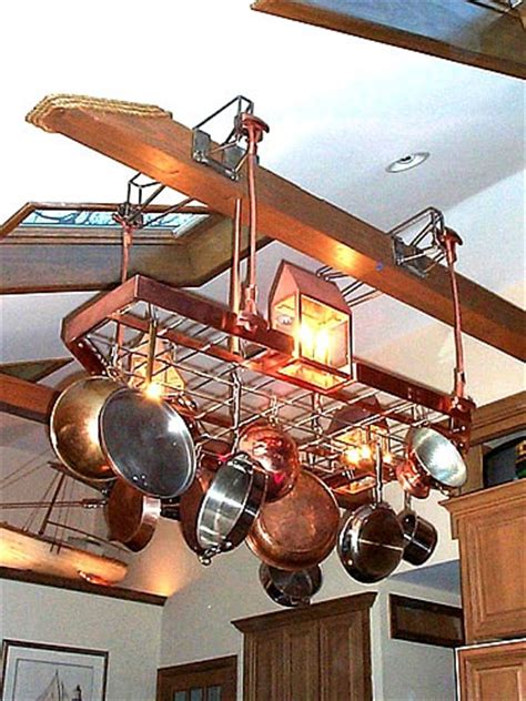 Kitchen Pot Rack Ideas Custom Pot Racks Custom Wrought Iron Pot Racks Misita