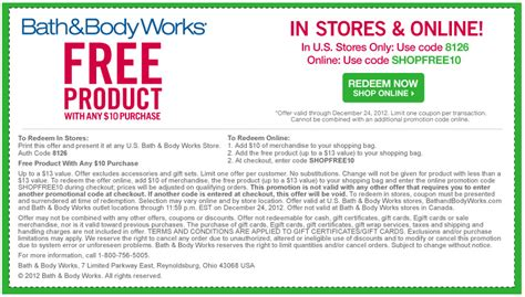 bed body works coupon bath and body work coupons printable coupons online