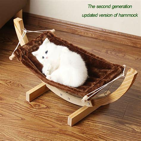 cat hammock bed i pet lounger mini cat hammock slash pets