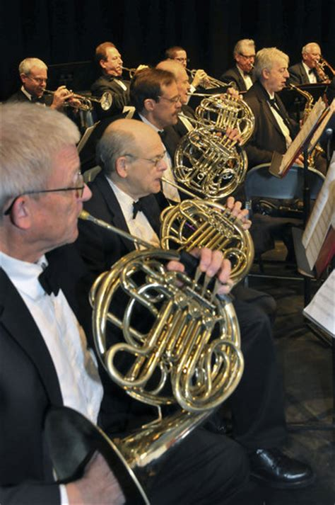 french horn section westfield community band continues centennial celebration