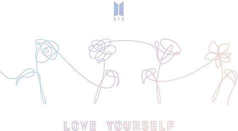 love yourself pattern p 243 sters 171 bts love yourself flores todo blanco 187 de