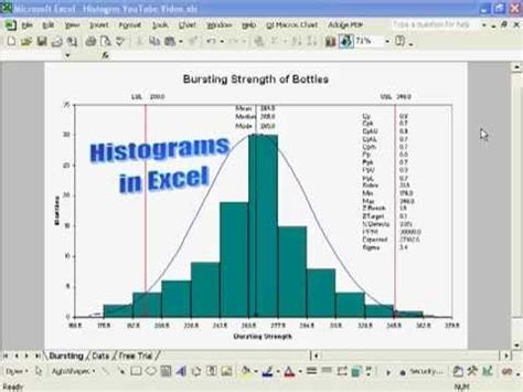 Download Create A Histogram In Excel With Process Capability Metrics Cp Cpk Pp Gantt Chart Cpk Ppk Excel Template
