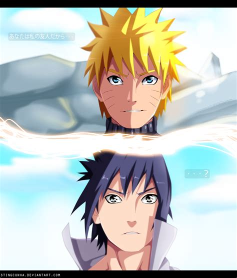 naruto you are my friend because you are my friend naruto by stingcunha on