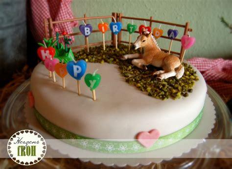 kuchen kindergeburtstag pferd herzensfroh kindergeburtstag