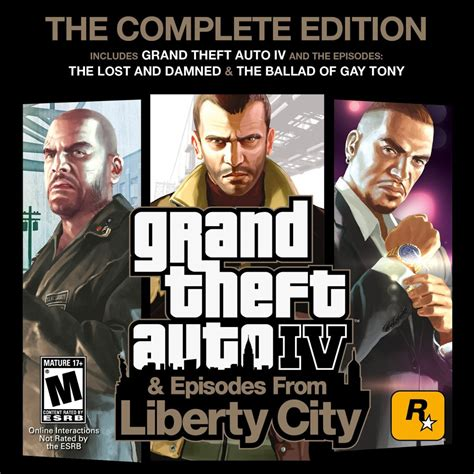 Gta Complete Editions pc grand theft auto iv the complete edition