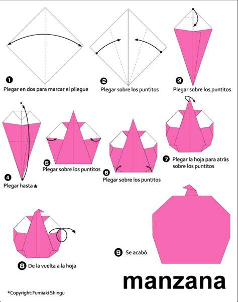 Origami Fruit - origami apple