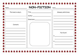 Factual Report Template Ks2 Fiction Non Fiction Powerpoint By Hannahelizabethg