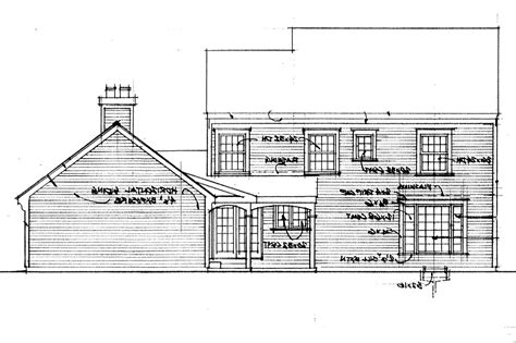Saltbox House Plans by Saltbox House Plans