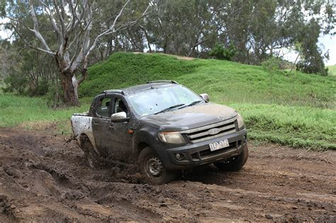 ford on road all new ford ranger shows its road potential