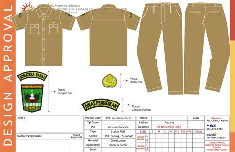 Pakaian Dinas Upacara buat kemeja seragam konveksi seragam kerja bandung