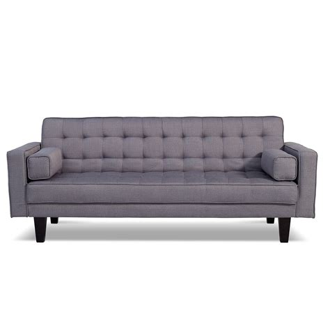 city furniture sofa bed value city does it in gray futon sofa bed