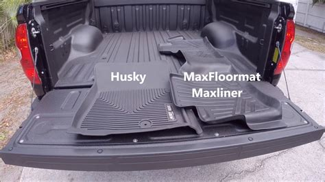 Husky  Maxliner Maxfloormat Review  Tundra Youtube