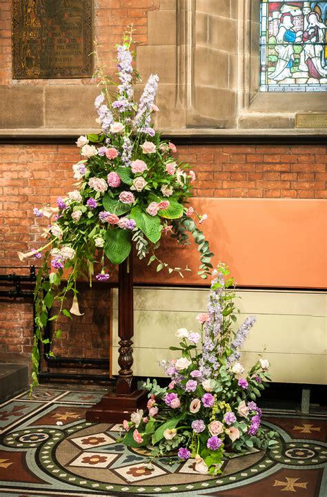 Peony Arrangement Flower Arranging Bury Parish Church