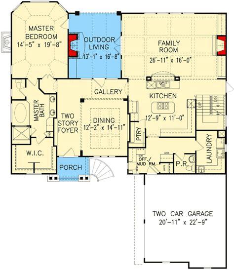 outdoor living floor plans soaring outdoor living space 15618ge 1st floor master suite butler walk in pantry cad