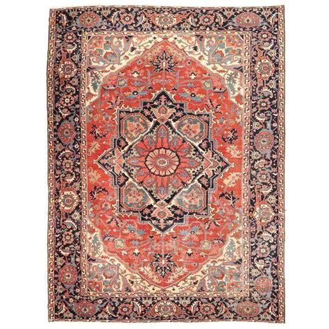 Antique Heriz Rug by Authentic Antique Heriz Serapi Carpet Rug