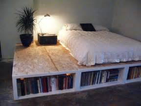 Bed Frame Diy Ideas Miscellaneous How To Build Diy Bed Frame Ideas