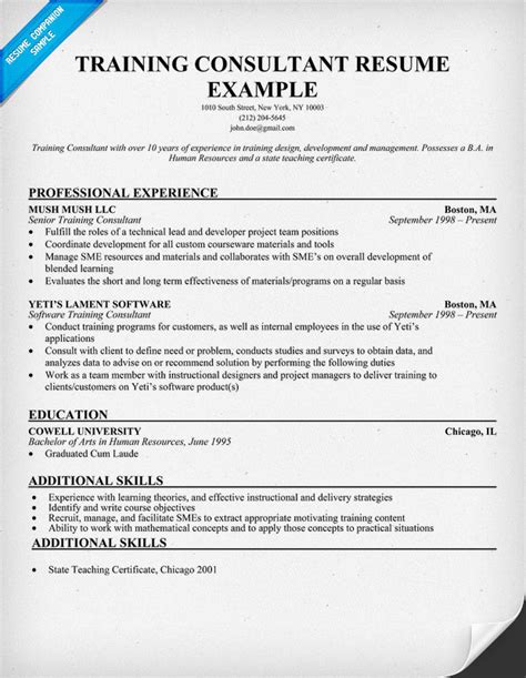 sle resume training consultant resume ixiplay free