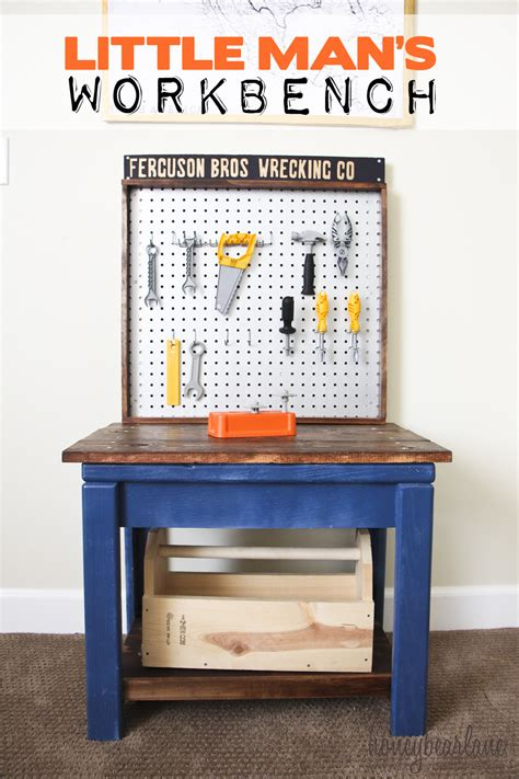 little boys tool bench kids workbench from old table honeybear lane
