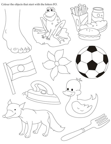 coloring pages for ukg ukg worksheets free read color and