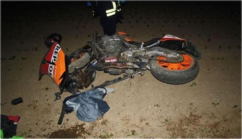 Motorradunfall Teile by Neupotz Mit Dem Motorrad 252 Berschlagen Und