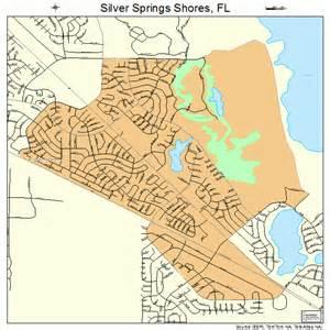 silver springs florida map silver springs shores florida map 1266175