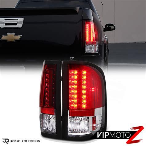 2009 silverado led tail lights 2007 2013 chevy silverado 1500 2500 3500 black hedlights