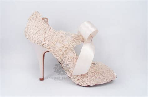 Blush Pink Bridal Shoes by Blush Pink Wedding Shoes Blush Wedding Shoes Lace Wedding