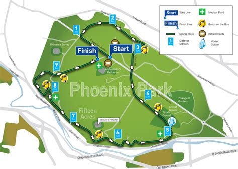 run map the best 10k run in dublin great ireland run