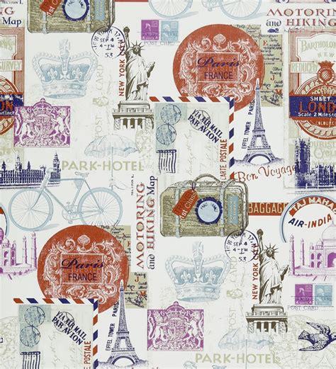 imagenes de zona retro papel pintado collage vintage de viajes 41012