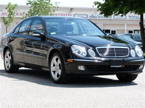 Mercedes 2004 E320 by 2004 Mercedes E320 4 Dr E320 4matic Awd Sedan By