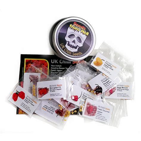 Sebamed Starter Pack Gift Set chilli pepper seeds starter gift pack 20 of our varieties