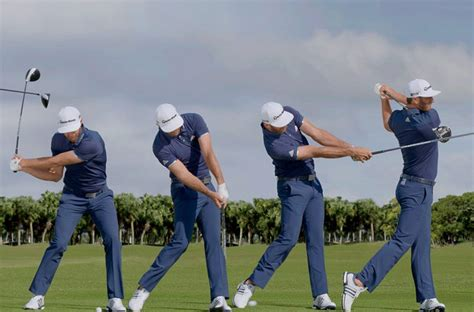 dustin johnson swing speed swing sequence dustin johnson australian golf digest