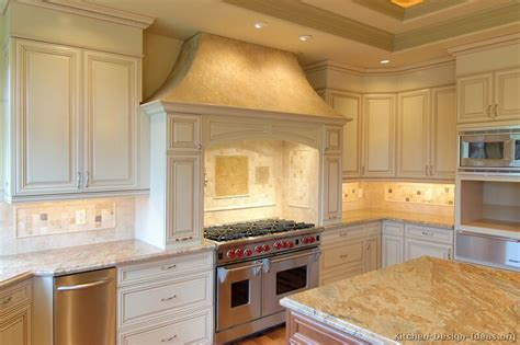 pictures kitchen cabinets pictures of kitchens traditional off white antique