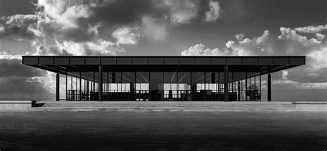 Gothic Style Home by Berlin S Neue Nationalgalerie By Mies Van Der Rohe