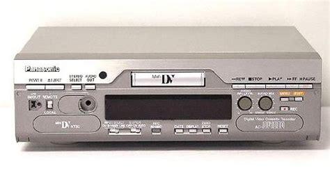 cassette minidv panasonic ag dv1000 mini dv proline vcr