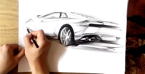 lamborghini huracan sketch how to draw the lamborghini huracan autoevolution