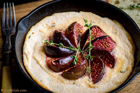Delish Chicken Recipes by Blondelish Recipes Baked Ricotta With Honey Figs 106