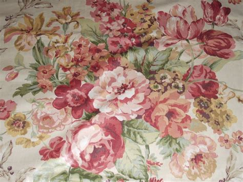 pattern flower english classic english floral chintz comfortable home