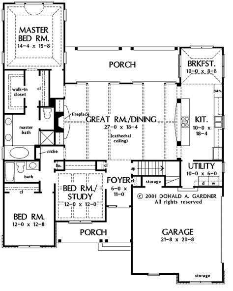 great room house plans cameo homes floor plan with cathedral ceiling cathedral