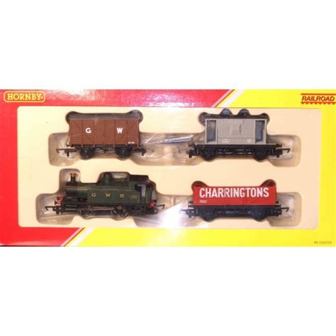 hornby gwr class 101 holden 0 4 0 tank locomotive goods pack r2670 papamallard