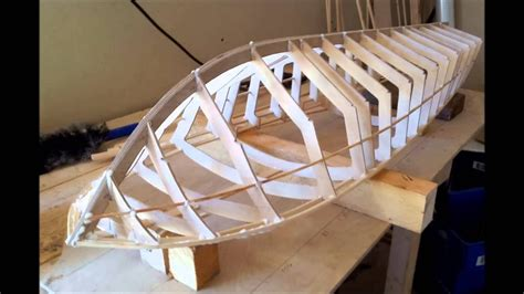 rc   riva aquarama boat build part  youtube