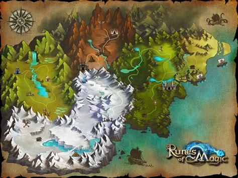 game design world map runes of magic the changing face of taborea kotaku