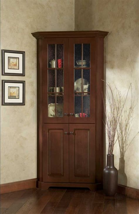 Corner Hutch For Dining Room by Corner Dining Room Hutch Storage Ideas Homesfeed