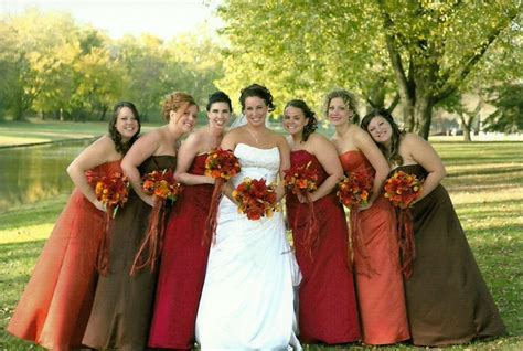 fall dress colors 12 best images about fall bridal dresses on