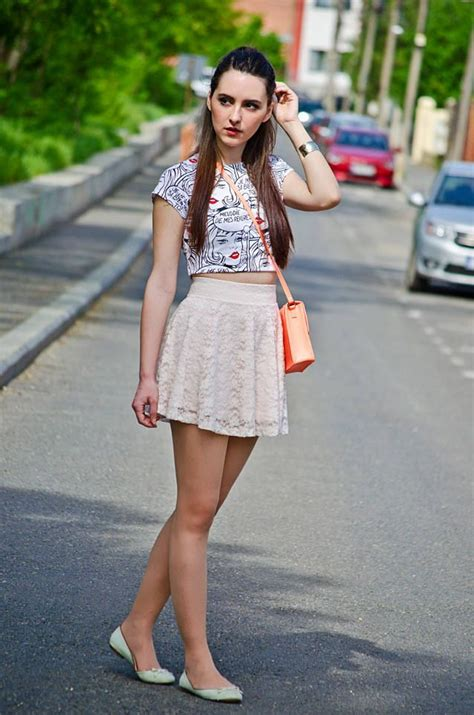 how to wear skater skirt in summer designers