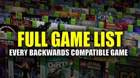 full free games xbox one full list of xbox 360 games you can play on one